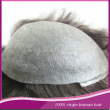 Thin skin toupee Best natural looking invisible thin skin men's toupee