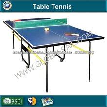 Mesa de ping pong al aire libre plegable