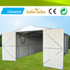 made in China sturdy construction prefab steel house shed for free garden bed
