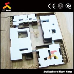 LST Model Company elegant clay scale model sofa for architecture/for interior scale model