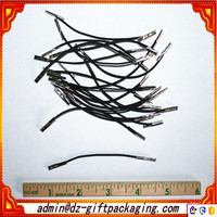 High Quality Black Elastic Cord With Metal Barb End