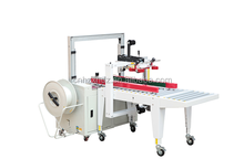 Factory Automatic Box Sealer and Banding machine