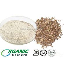 wholesale 100% natrual food additive organic hemp protein powder