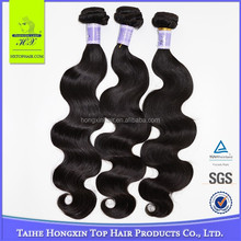 Chinese Hair Factory Good Quality Natural Human Hair Indian Virgin Hair Exporter
