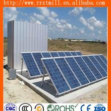 spray paint 100kw solar system solar mounting structure