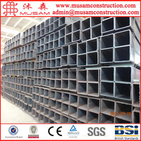 40x40 steel square pipe!!!75x75 steel square tube sizes