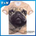 Venta al por mayor de encargo 3d impresión de la camiseta