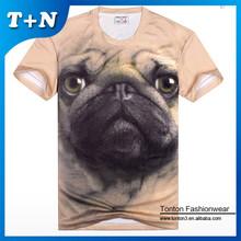 Wholesale custom 3d printing t-shirt