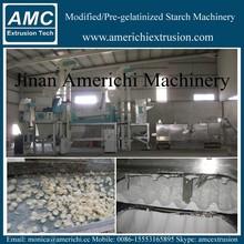 High capacity oil drilling modified corn starch line/machine/plant