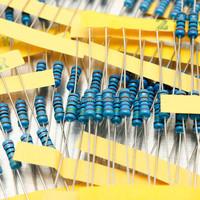 Newest 500 Pcs 1/2W 0.5W 50 Values 1% Metal Film Resistors Assorted Kit