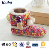 Knitting custom top quality boots for toddler girls