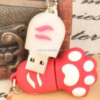 Palm shaped oem flash drive ,USB pormo gift USB custom logo ,novelty shape usb flash drive
