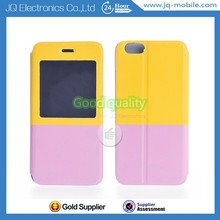 Beautiful Style Dual Colors Hybrid Flip Case for iPhone 6