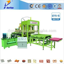 QTY5-15 brick machine for myanmar / brick machne