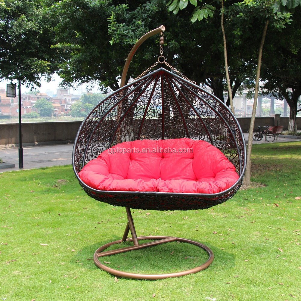 Garden Furniture Pod wicker pod chair outdoor wicker rattan hanging egg pod chair swing