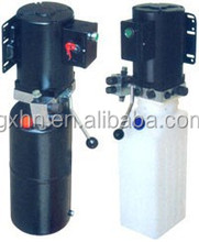 car lift hydraulic power pack with plastic tank