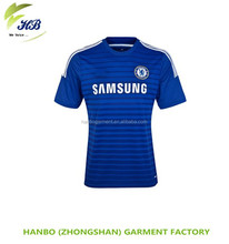 New design men football soccers Sublimated Soccer Uniform Custom Nylon Jersey Soccer