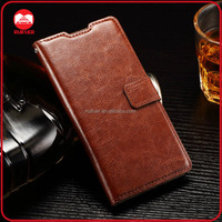 China Manufacturer Wholesale Book Pouch Stand Pocket Wallet Leather Flip Case for Huawei P8 Lite