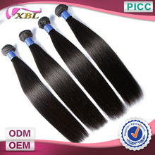 Shedding Free Can Be Dyed 6A Grade Popular Peruvian Hair
