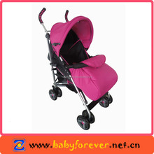 2015 stroller baby manufacture pink stroller with foot cover UNE-EN 1888:2012