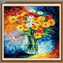 40*40cm modern flower oil painting, acrylic painting wall art