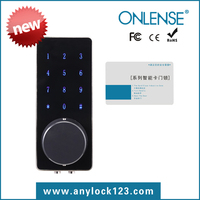 High security M1 card touch screen digital lock