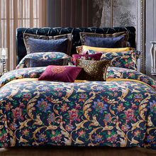 1200 thread count 80sx120s 220gsm twin size printed cotton bed linen