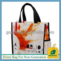 factory low price non woven shopping bag with long handle