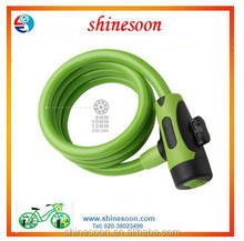 Factory 's price for 2015 new style high quality bike bicycle lock accessories