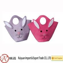 New gray Easter Bunny Novelty Felt Bag For Kids!!!