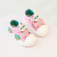 Autumn Toddle Prewalker Shoes Cute Pink Rabbit Comfortable Shoes
