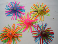 soft promotion plastic shuttlecock funny kid toy