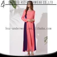High quality abaya mature lady elegant maxi dress long sleeve chiffon abaya collection dress women formal muslimah abaya designs