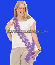 Grandma To Be Satin Sash Party Accessory