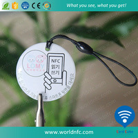 NFC Creative RFID Epoxy tag with rewritable NFC chips