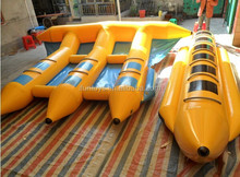inflatable flyfish adventure / inflatable flying fish tube / riding a flying sled