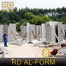 RD Building Construct slab aluminum alloy formwork penal concrete forming system