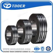Manufacturer tungsten carbide guide roller ring for wire rods