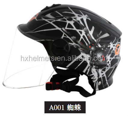 moiti du visage pas cher bande dessin e moto moto motocross dr le casques vendre casque moto. Black Bedroom Furniture Sets. Home Design Ideas