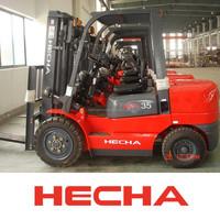 3.5Ton Automatic Diesel Forklift Trucks With Isuzu C240 engine