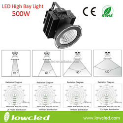 Factory price 500W High power CREE IP65 Waterproof LED High Bay light, 500 Watts led high bay lighting fixtures