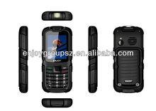 2.2inch W26 MTK6582 rugged feature phone dual sim W26 MTK6260 mini projector mobile phone IP67Waterproof and Dustproof