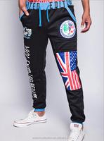 New Fashion men's skinny pants loose casual harem pants sports pants Sweatpants UK flag Printing trousers