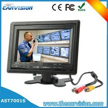 "7"" lcd monitor bus cctv camera system car rearview mirror monitor for reversing"