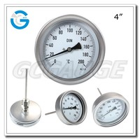 High quality stainless steel industrial temperature instrumentation