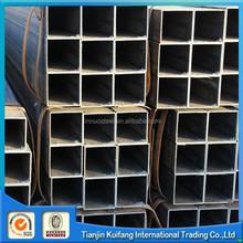 ERW carbon black square steel tube connectors