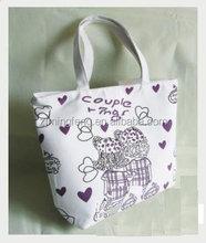 cotton bag/ durable shoulder strap cotton bag/ durable garment advertising cotton bag
