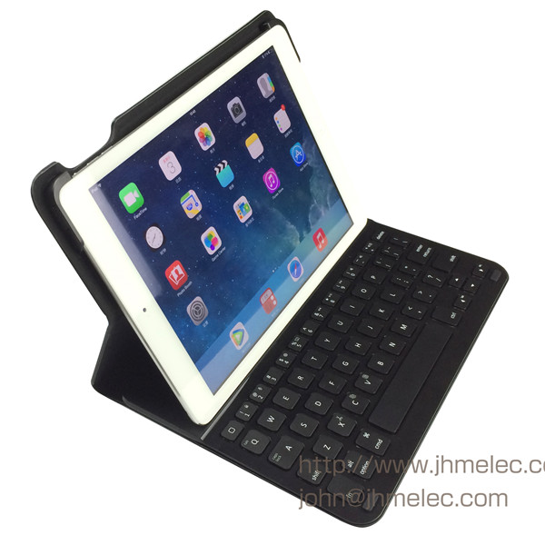 Apple Wireless Keyboard Convertible Stands Portfolio Case for iPad Air 5