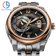 All stainless steel 316L luxury automatic wrist watch