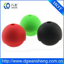 Personalizado de silicona 2014 whisky bola de hielo del molde/de caucho de silicona de hielo molde de la bola